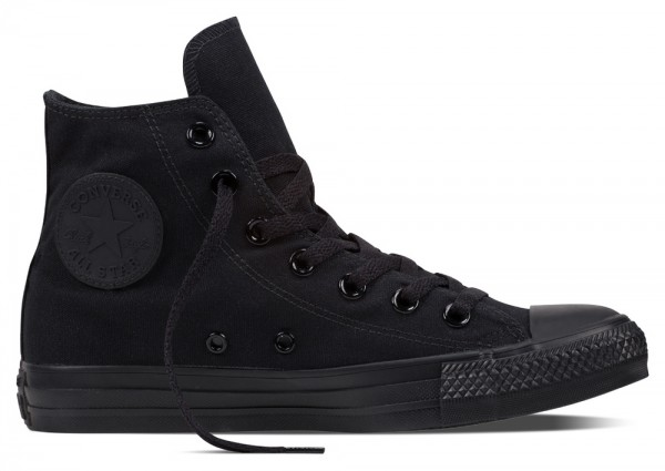Chuck Taylor All Star Hi Black Mono Canvas