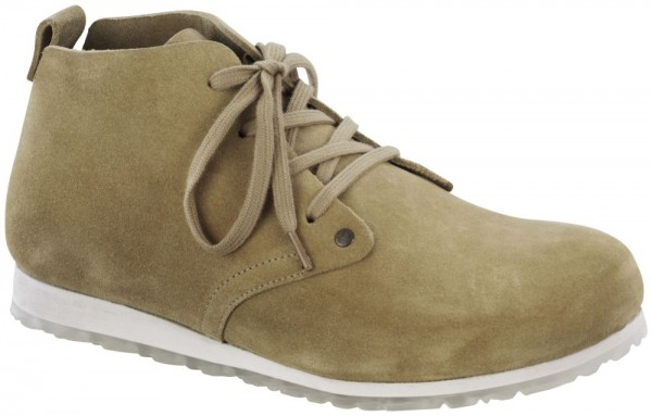 Dundee Plus Sand suede leather