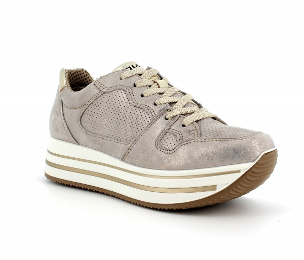 Dky 71521 - Taupe Leather