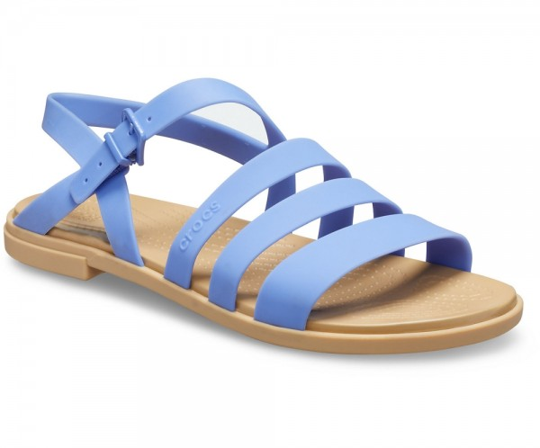 Crocs Tulum Sandal Women Lapis / Tan Croslite