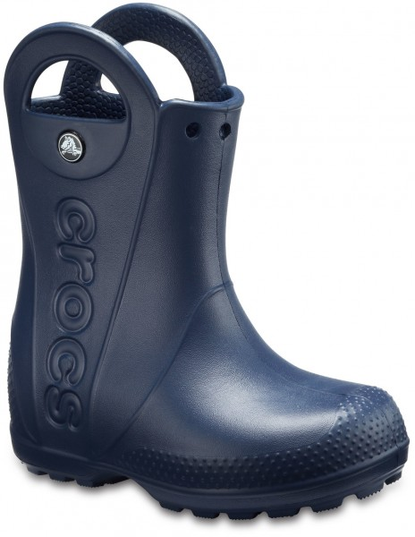 Handle It Rain Boot Kids Navy Croslite