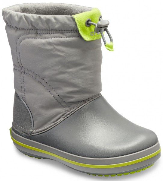 Crocband LodgePoint Boot Kids Smoke/Graphite Croslite