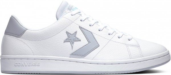 Converse All-Court - Ox - White / Gravel Leather