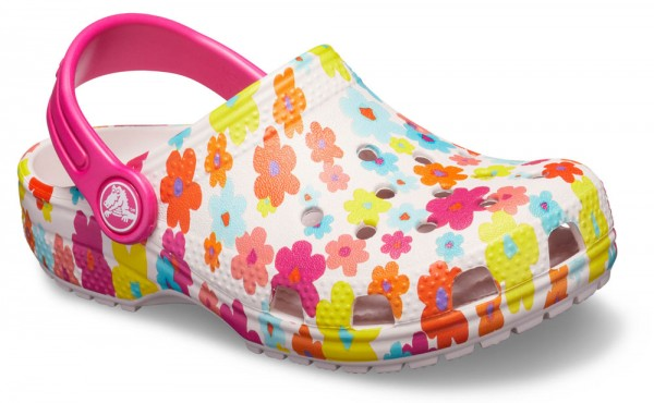 Classic Graphic Clog Kids Barely Pink Croslite
