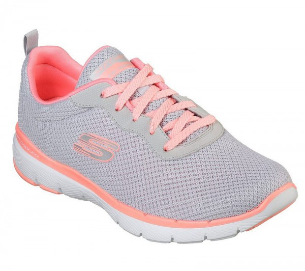 Flex Appeal 3.0 - First Insight Light grey / Hot Rose Textile