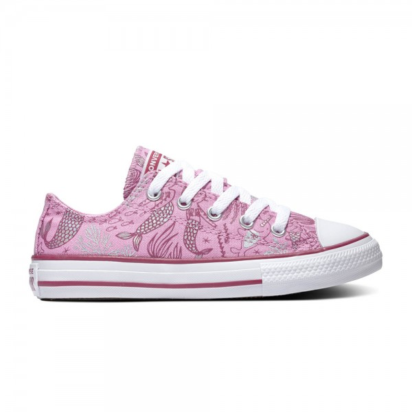 Chuck Taylor All Star Kids - Ox - Peony Pink / Rose Maroon / White Canvas