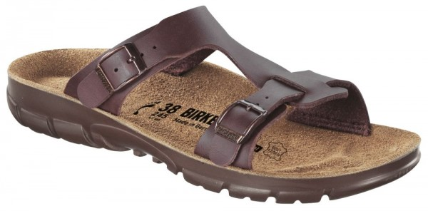 Sofia Brown Soft Footbed Birko-Flor
