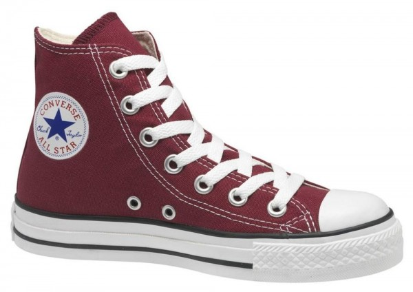 Chuck Taylor All Star Hi Maroon Canvas  15701e9af5