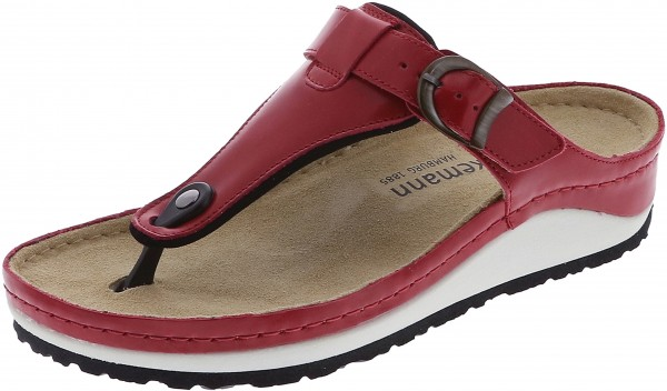 Mila Red nappa leather