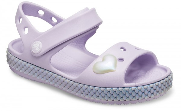 Crocband Imagination Sandal Kids Lavender Croslite