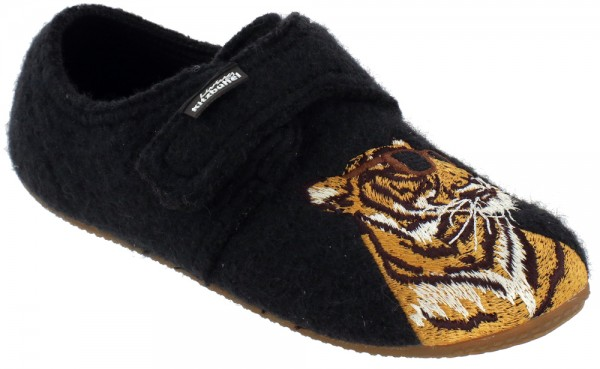 Klettmodell Tiger With Brille phantom Wool