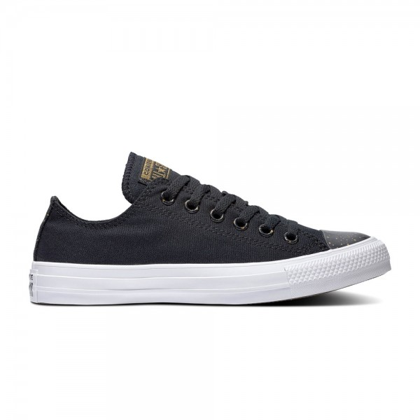 Chuck Taylor All Star - Ox - Black / White / Gold Canvas