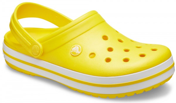 Crocband Lemon / White Croslite