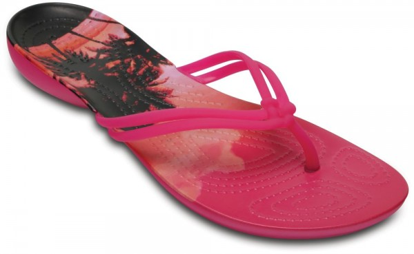 Isabella Graphic Flip Candy Pink / Tropical Croslite