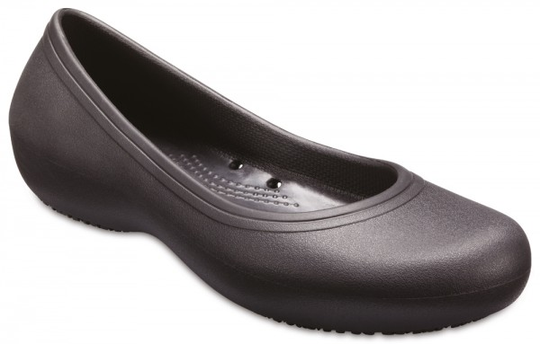 Crocs At Work 2 Flat Black Croslite