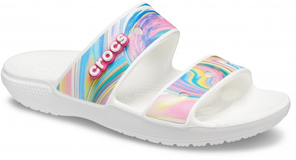 Classic Crocs Out Of This World Sandal Multi / White Croslite