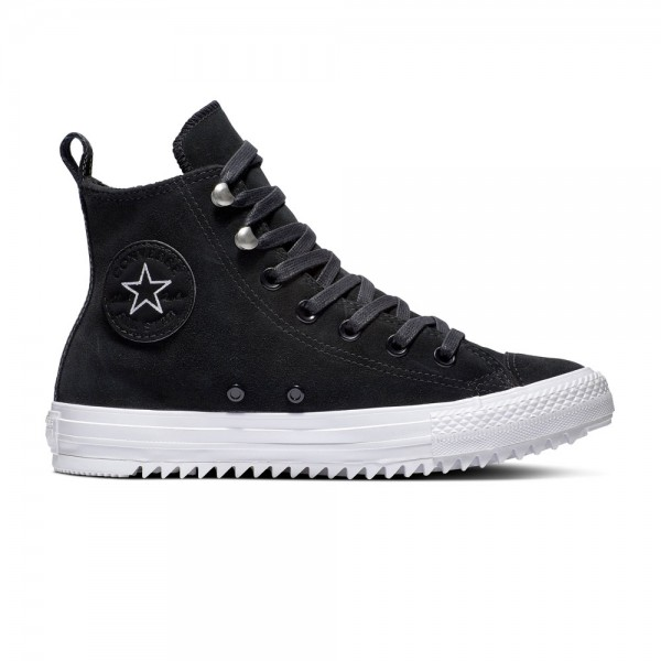 Chuck Taylor All Star Hi Final Frontier Black / White / Black Leather