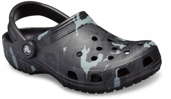 Seasonal Graphic Clog Black / Grey Croslite