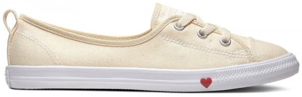 Chuck Taylor All Star Ballet Lace Natural Ivory Textile