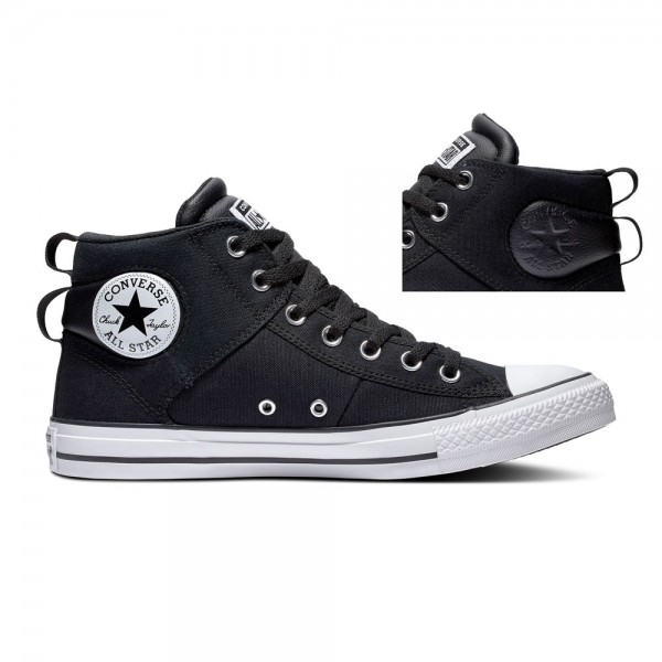 Chuck Taylor All Star Cs - Mid - Black / White / Black Canvas