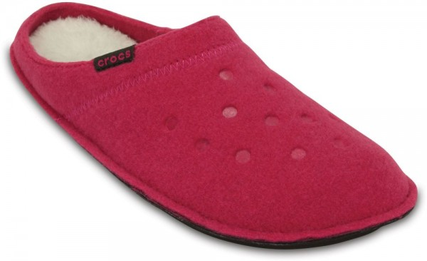 Classic Slipper Candy Pink / Oatmeal Textile