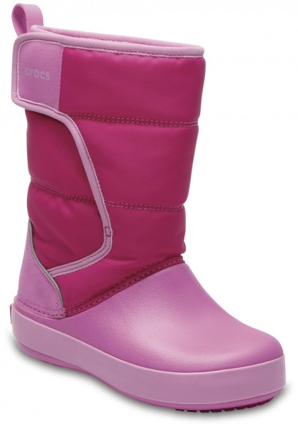 LodgePoint Snow Boot Kids Candy Pink / Party Pink Croslite