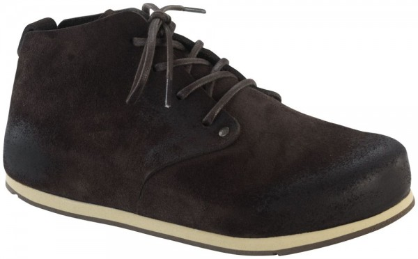 Dundee Softy Comfort Mocca Soft Footbed suede leather