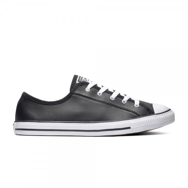 Chuck Taylor All Star Dainty - Ox - Black / White / White Leather